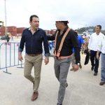 Presidente Jimmy visita Empornac