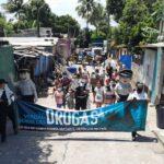 Caminata en celebración al Día Internacional Contra el Tráfico Ilícito y Abuso de Droga.