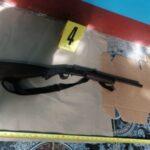 Incautan armas de fuego en allanamientos.